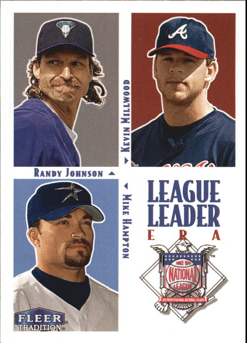 2000 Fleer Tradition #10 NL ERA LL
