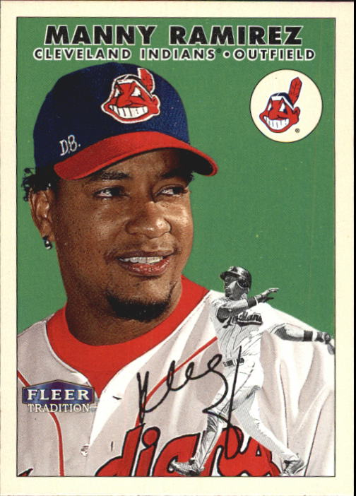 2000 Fleer Tradition #15 Manny Ramirez