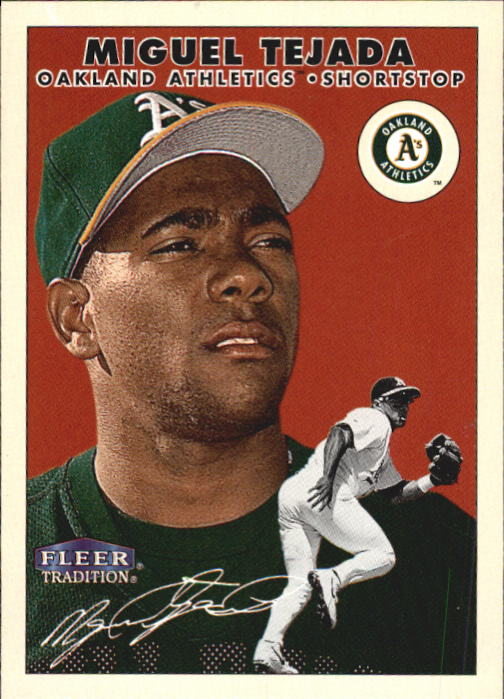 2000 Fleer Tradition #81 Miguel Tejada