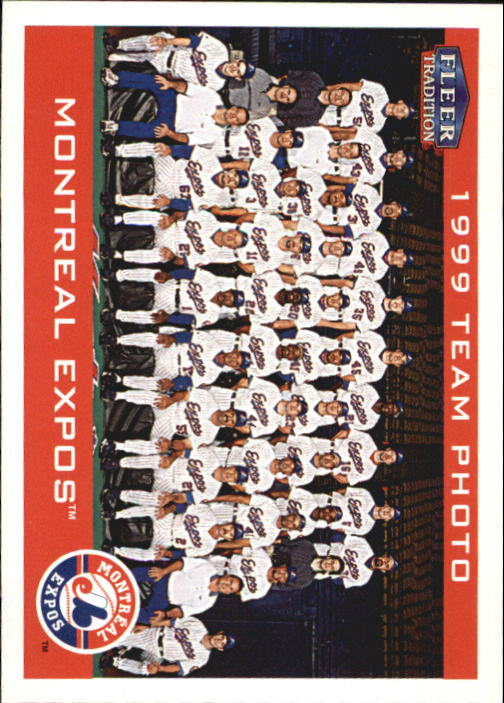 2000 Fleer Tradition #97 Montreal Expos