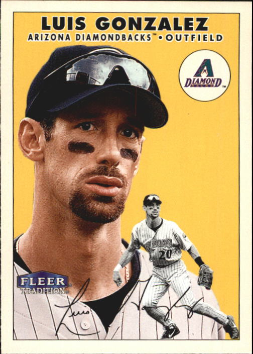 2000 Fleer Tradition #99 Luis Gonzalez