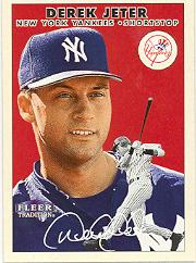 2000 Fleer Tradition #106 Derek Jeter