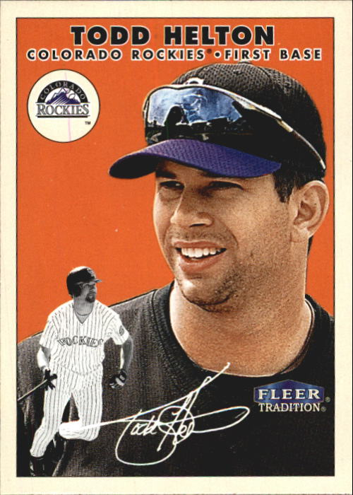 2000 Fleer Tradition #175 Todd Helton