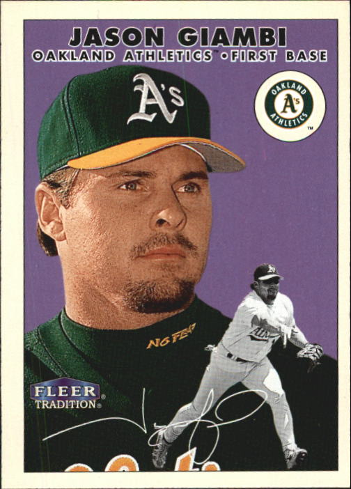 2000 Fleer Tradition #221 Jason Giambi