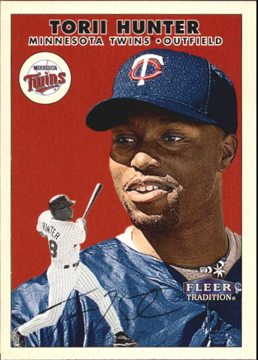 2000 Fleer Tradition #331 Torii Hunter