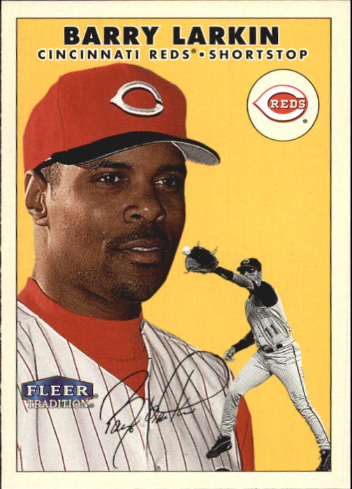 2000 Fleer Tradition #352 Barry Larkin