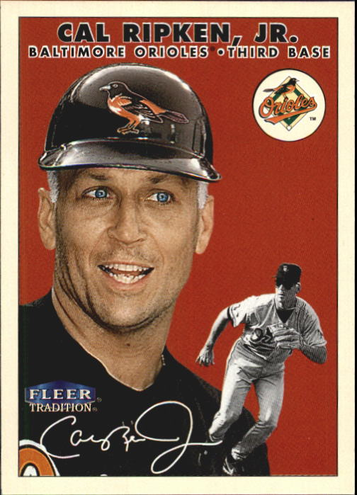 2000 Fleer Tradition #353 Cal Ripken