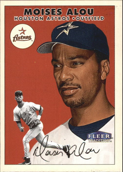2000 Fleer Tradition #360 Moises Alou