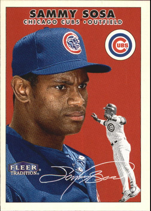 2000 Fleer Tradition #374 Sammy Sosa