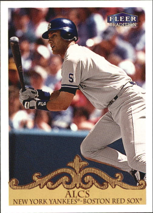 2000 Fleer Tradition #443 Derek Jeter DIV