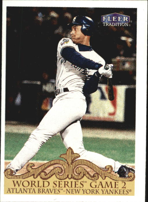 2000 Fleer Tradition #448 Derek Jeter WS