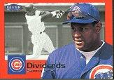 2000 Fleer Tradition Dividends #D8 Sammy Sosa