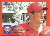 2000 Fleer Tradition Dividends #D10 Scott Rolen