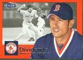 2000 Fleer Tradition Dividends #D11 Nomar Garciaparra