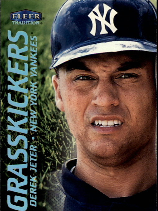 2000 Fleer Tradition Grasskickers #GK12 Derek Jeter