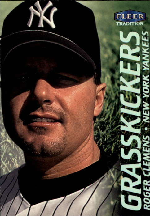2000 Fleer Tradition Grasskickers #GK14 Roger Clemens