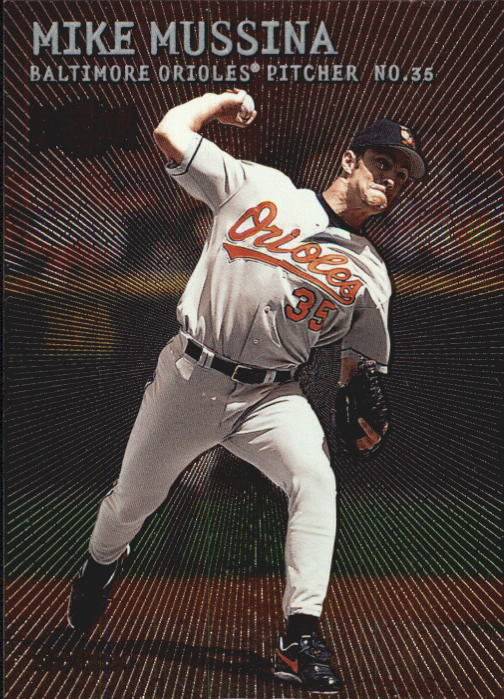 2000 Metal #27 Mike Mussina