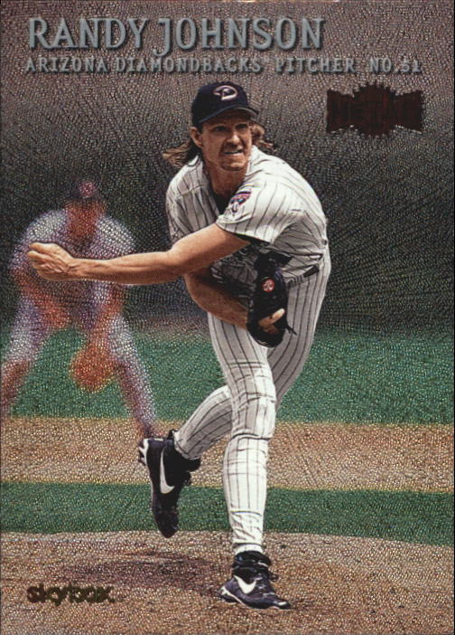 2000 Metal #50 Randy Johnson
