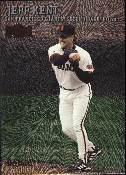 2000 Metal #125 Jeff Kent
