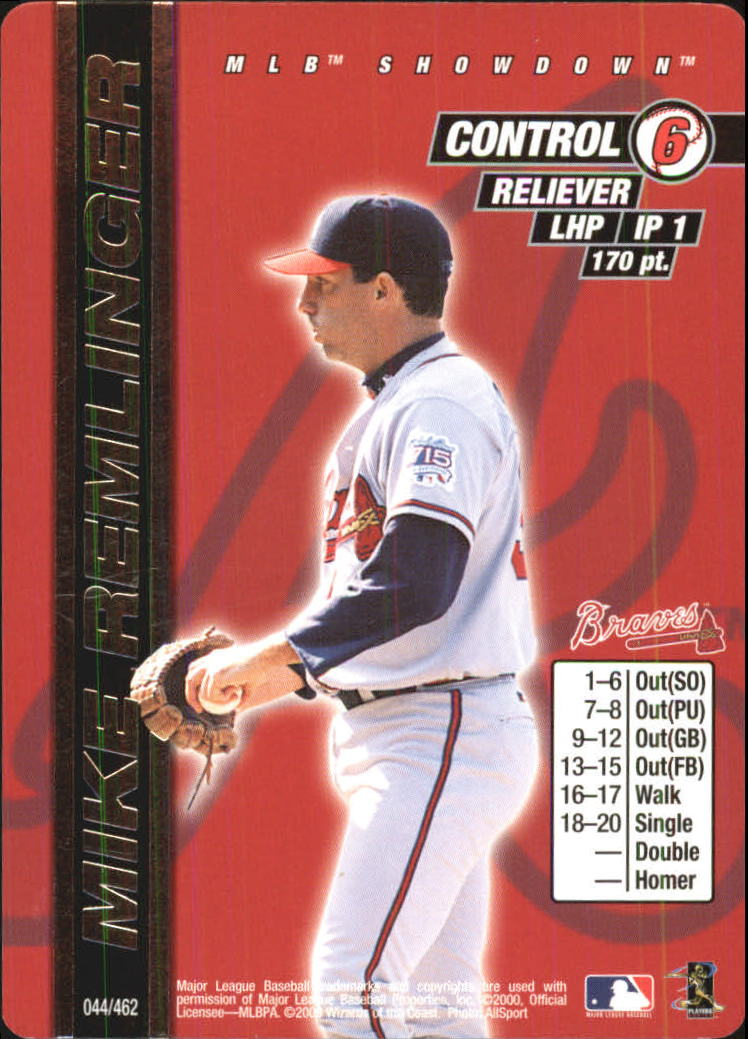 2000 MLB Showdown Unlimited #44 Mike Remlinger