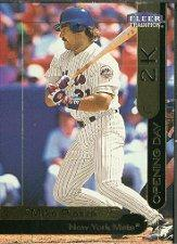 2000 Opening Day 2K #OD11 Mike Piazza FLEER