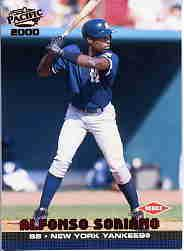 2000 Pacific #303 Alfonso Soriano