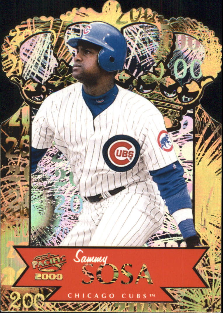 2000 Pacific Gold Crown Die Cuts #9 Sammy Sosa