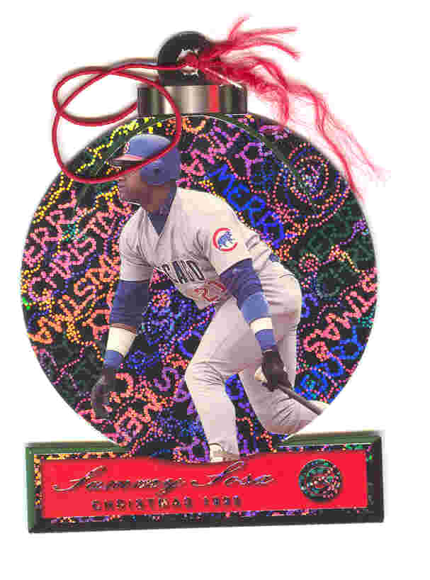 2000 Pacific Ornaments #6 Sammy Sosa