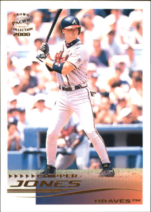 2000 Pacific Crown Collection #22 Chipper Jones