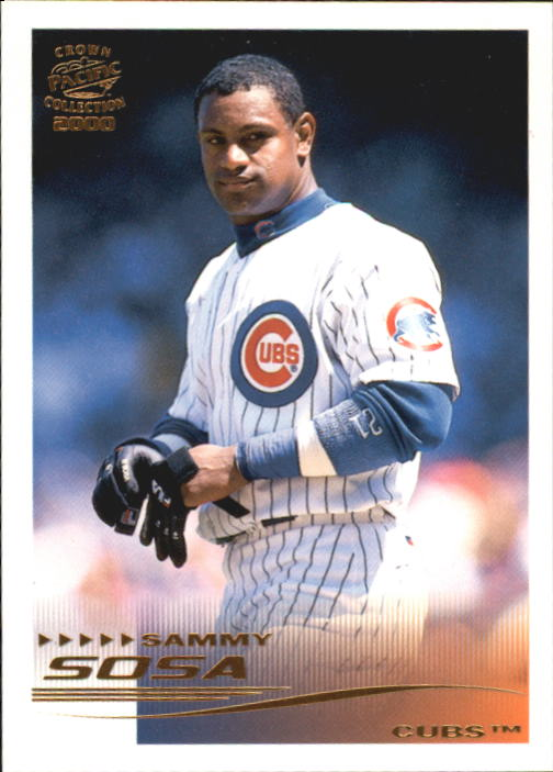 2000 Pacific Crown Collection #55 Sammy Sosa TC