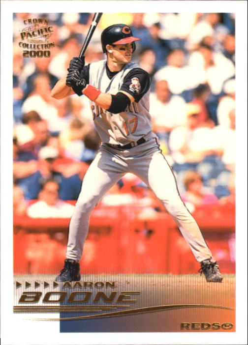 2000 Pacific Crown Collection #65 Aaron Boone