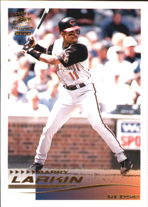 2000 Pacific Crown Collection #69 Barry Larkin