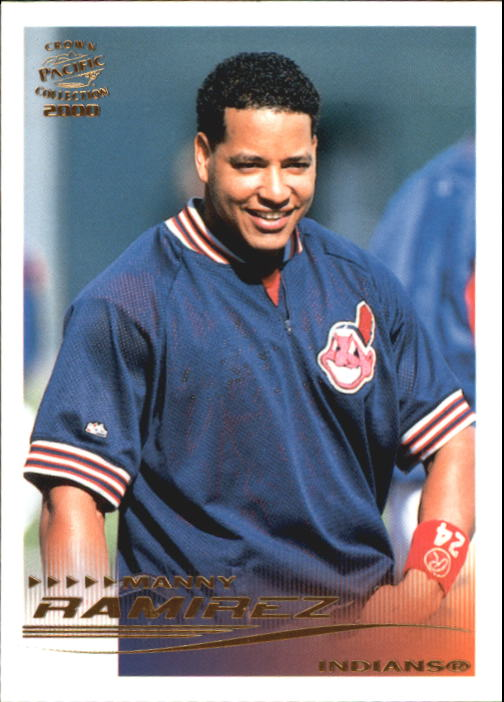 2000 Pacific Crown Collection #86 Manny Ramirez TC