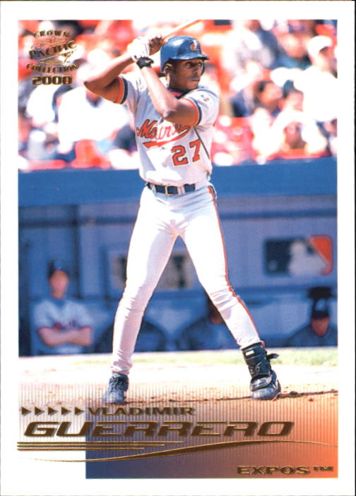 2000 Pacific Crown Collection #168 Vladimir Guerrero