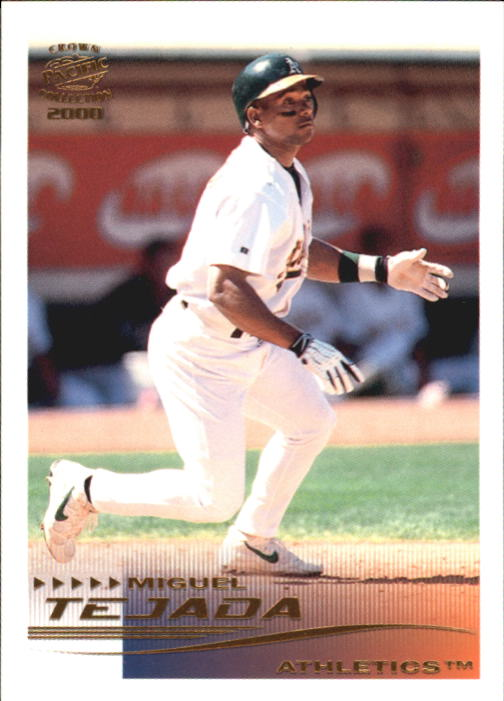 2000 Pacific Crown Collection #207 Miguel Tejada