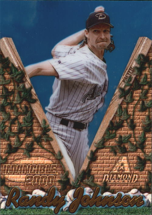 2000 Pacific Invincible #8 Randy Johnson