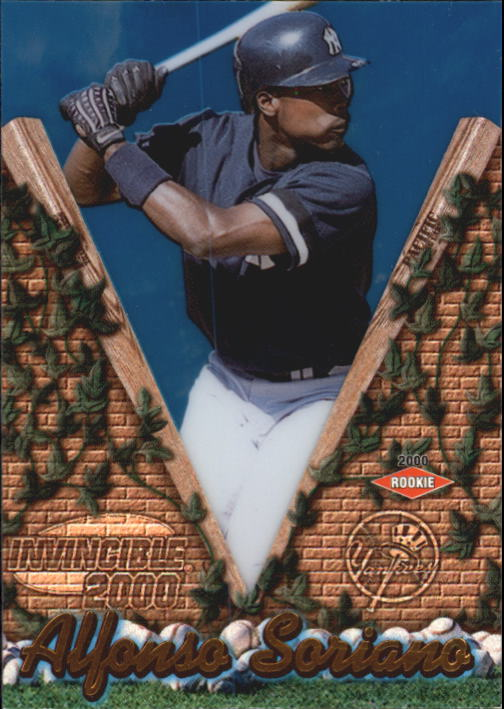 2000 Pacific Invincible #101 Alfonso Soriano
