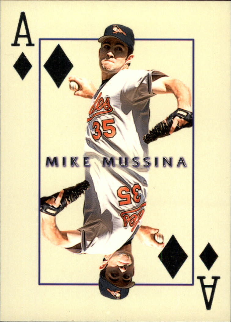 2000 Pacific Invincible Diamond Aces #5 Mike Mussina