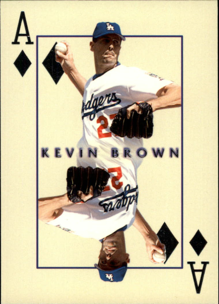 2000 Pacific Invincible Diamond Aces #11 Kevin Brown