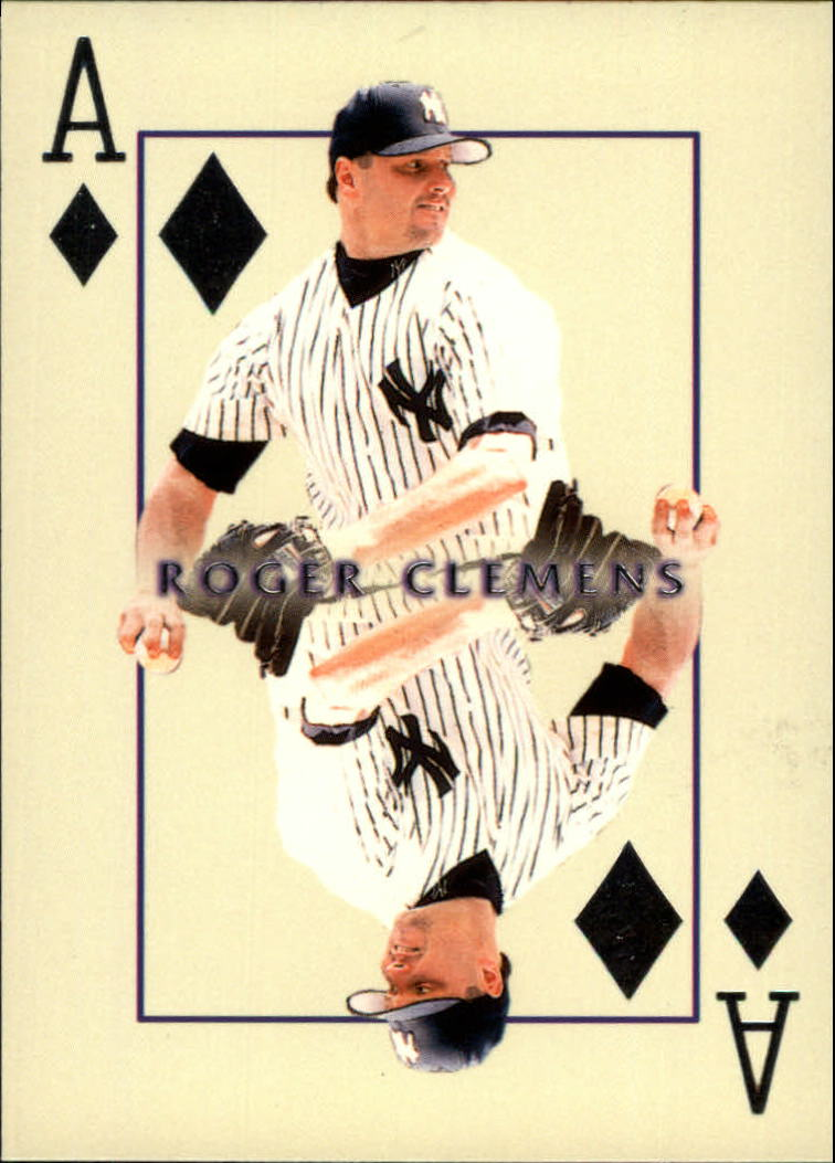 2000 Pacific Invincible Diamond Aces #13 Roger Clemens