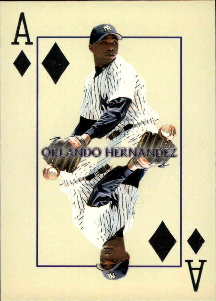 2000 Pacific Invincible Diamond Aces #15 Orlando Hernandez