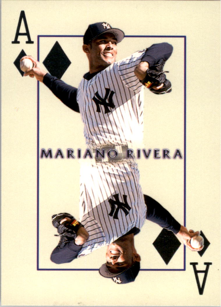 2000 Pacific Invincible Diamond Aces #16 Mariano Rivera