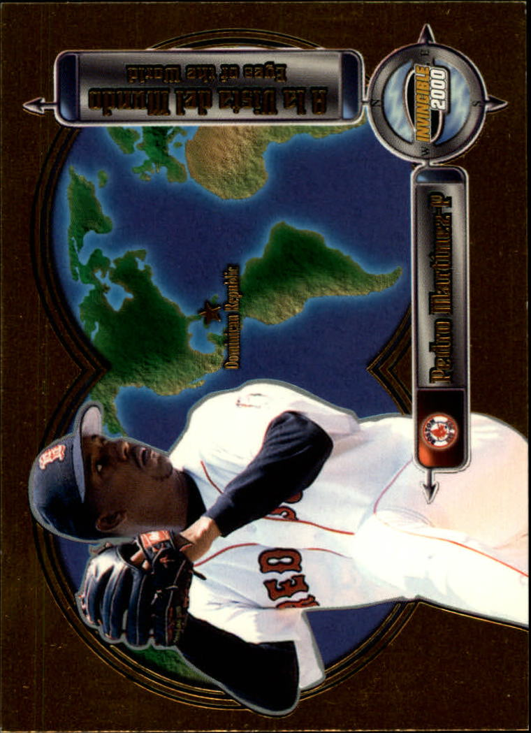 2000 Pacific Invincible Eyes of the World #5 Pedro Martinez
