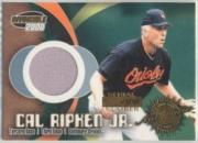 2000 Pacific Invincible Game Gear #7 C.Ripken Jsy/1000