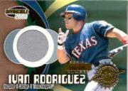 2000 Pacific Invincible Game Gear #9 I.Rodriguez Jsy/675