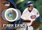 2000 Pacific Invincible Game Gear #21 M.Grace Patch/125