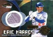 2000 Pacific Invincible Game Gear #24 E.Karros Patch/125