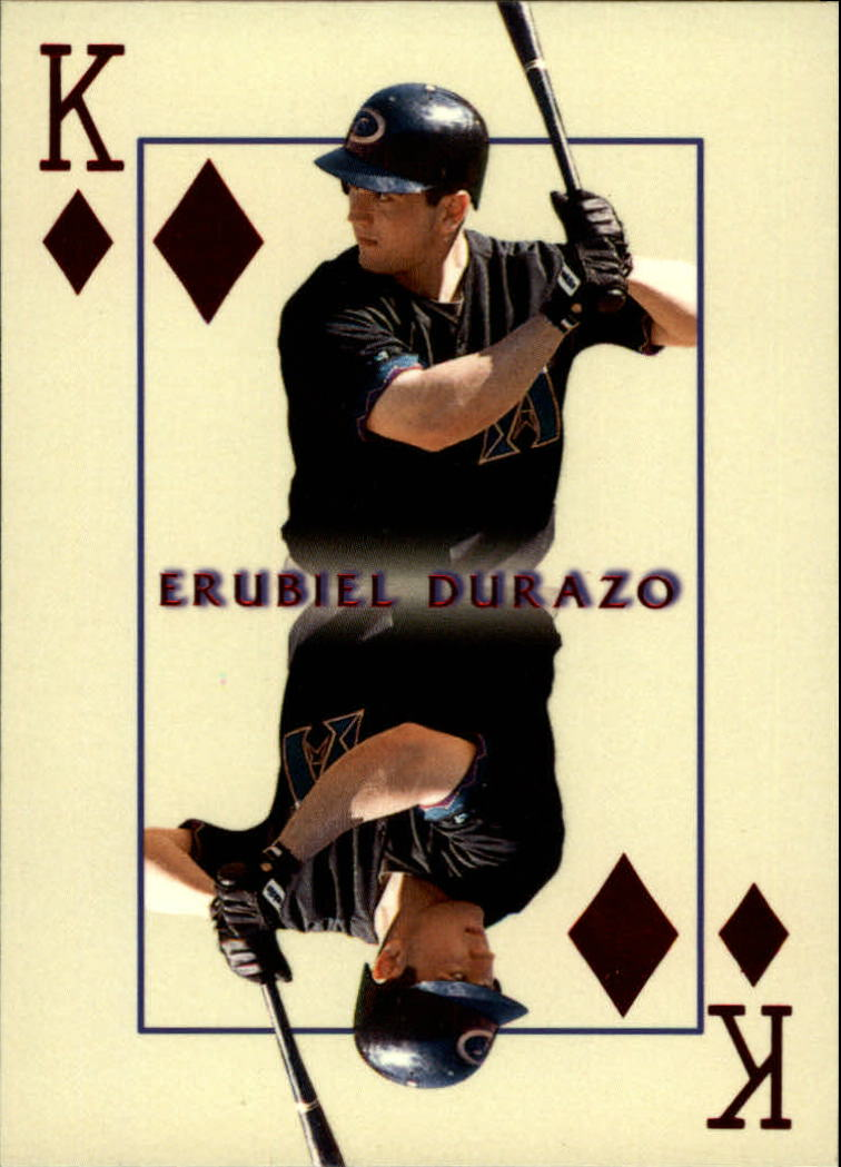 2000 Pacific Invincible Kings of the Diamond #2 Erubiel Durazo