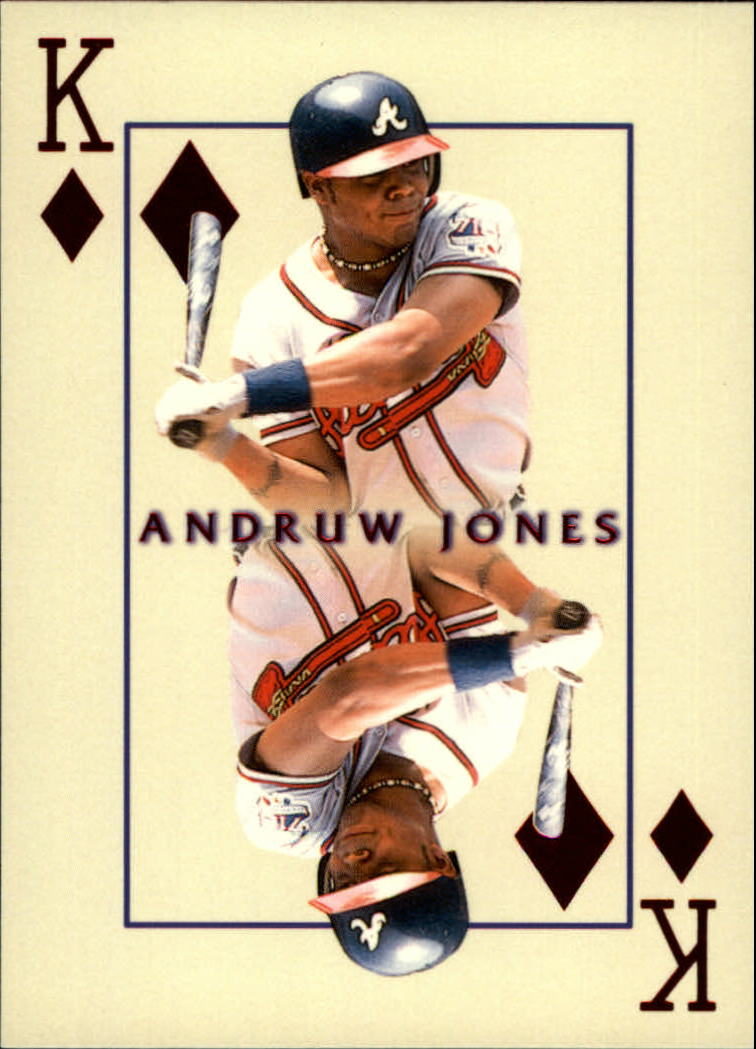 2000 Pacific Invincible Kings of the Diamond #3 Andruw Jones