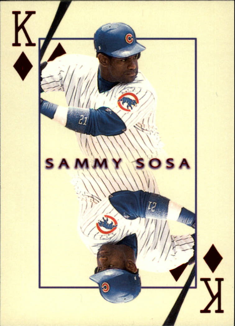 2000 Pacific Invincible Kings of the Diamond #7 Sammy Sosa
